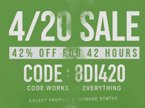 8DIO 4/20 Sale, 42% off everything for 42 hours - Deals - Cakewalk