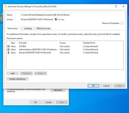 focusrite properties edit advanced security settings.PNG