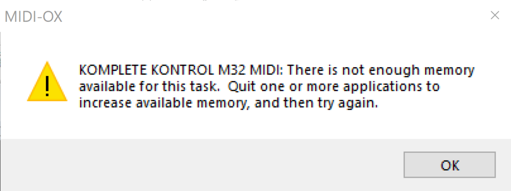 MIDI OX - Not enough memory available for task.PNG