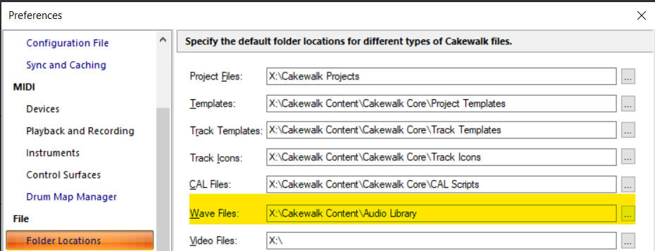 Cakewalk file location preferences.png
