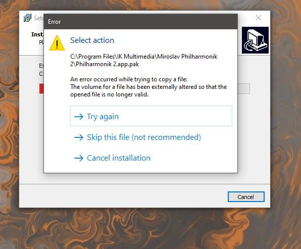 Miroslav orchestra install error.JPG