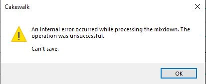 cakewalk internal error.JPG