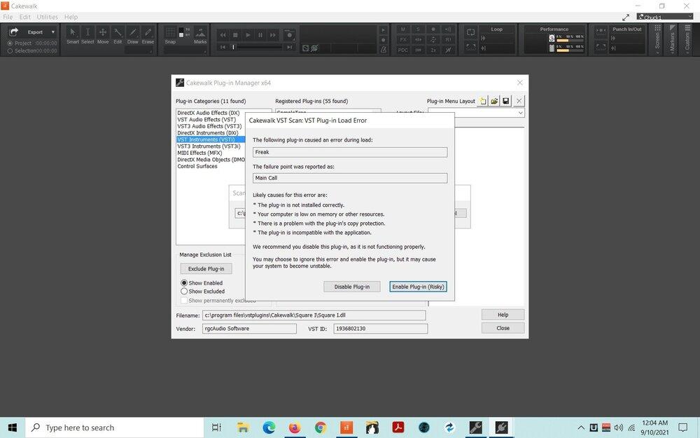 CW Freak Plugin error.jpg